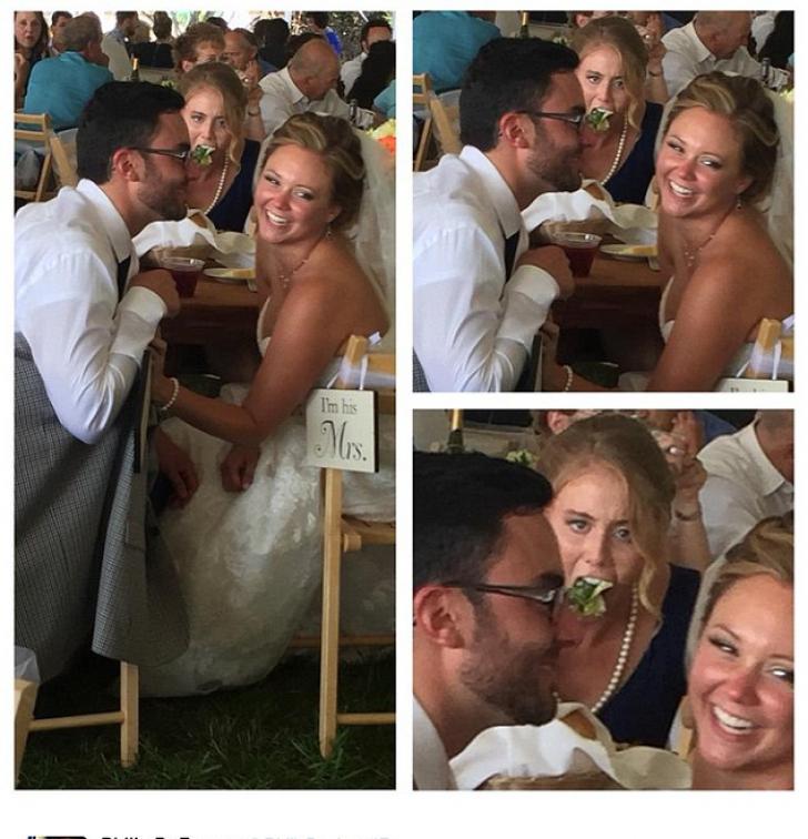 Mirii au crezut că au cea mai frumoasă fotografie de nuntă. Când s-au uitat atent, s-au îngrozit