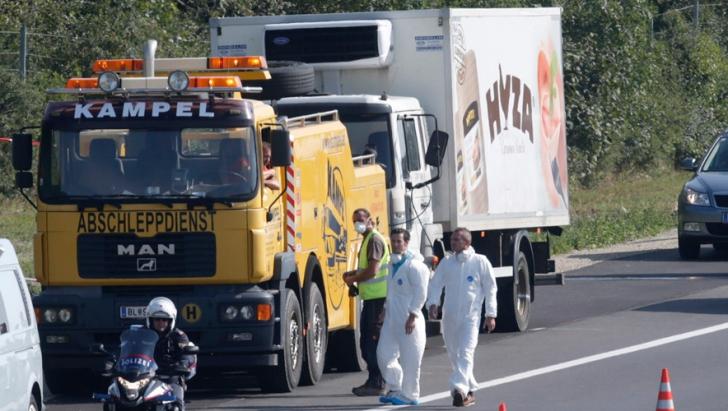 MAE, anunt oficial despre camionul cu 71 de refugiati morti: Proprietarul camionului nu este roman!