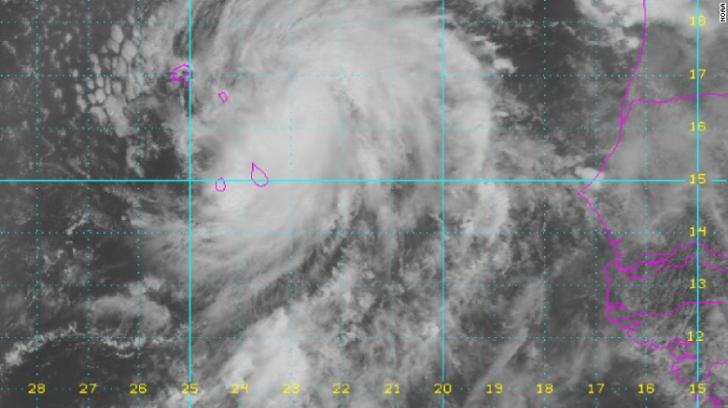 Insulele Capului Verde, afectate de un uragan după 120 de ani. Rafalele de vânt ating 140 km/h