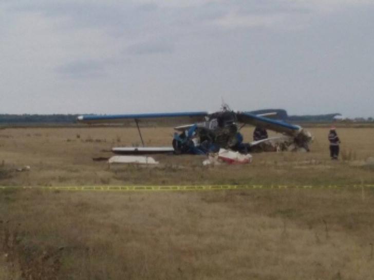Copilotul avionului prăbușit la Brăila face mărturisiri șocante. Ce a determinat accidentul aviatic