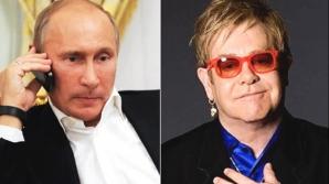 Putin si Elton John