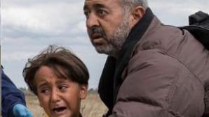 Refugiatii loviti de jurnalista din Ungaria