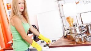 Cum să cureţi rapid şi simplu aragazul