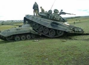 GALERIE FOTO. Soldaţii ruşi, pregătiţi de război. O să mori de râs când vei vedea ce fac