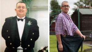 Impresionant! Acest bărbat a slabit 82 kg după ce a scos din alimentaţie un singur produs
