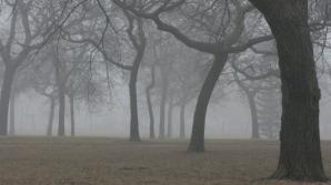Anunţ de ultimă oră de la meteo: cod galben de ceaţă