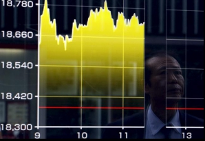Burse în cădere