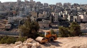 Israelul amenință să demoleze 13.000 de clădiri palestiniene în Cisiordania