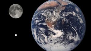 Enceladus, imagine comparativa cu Terra