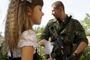GALERIE FOTO: Prima zi de şcoala în zonele de conflict din Ungaria