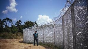 Gardul de la frontiera cu Serbia a blocat fluxul de refugiați