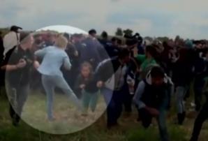 """Jurnalista din Ungaria care a lovit imigranții: """"Nu sunt rasistă și fără inimă"""""""