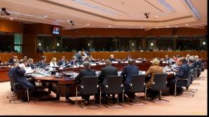 Preşedintele Klaus Iohannis, la masa liderilor UE