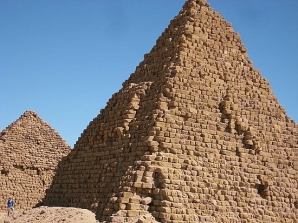 Piramide în Sudan