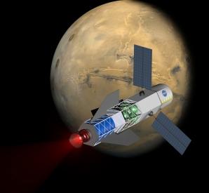 Marte, propulsor pentru rachetele de pe Pământ