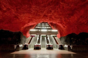 Metro ireal in Stockholm