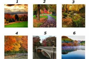 TEST: Alege una dintre imagini şi vei afla ce se întâmplă în viaţa ta, în această toamnă