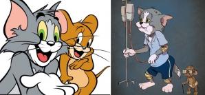 Personajele principale din desenele animate, la bătrâneţe. Dacă şi-ar arăta vârsta...
