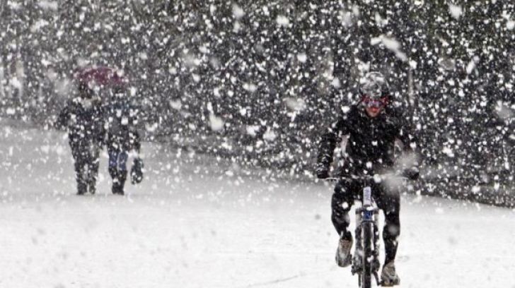 Atenție! Ninge în România