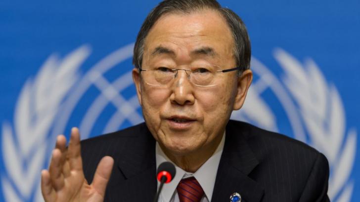 """Ban Ki-moon critică Ungaria: """"Am fost scandalizat să văd cum sunt tratați acești refugiați"""""""