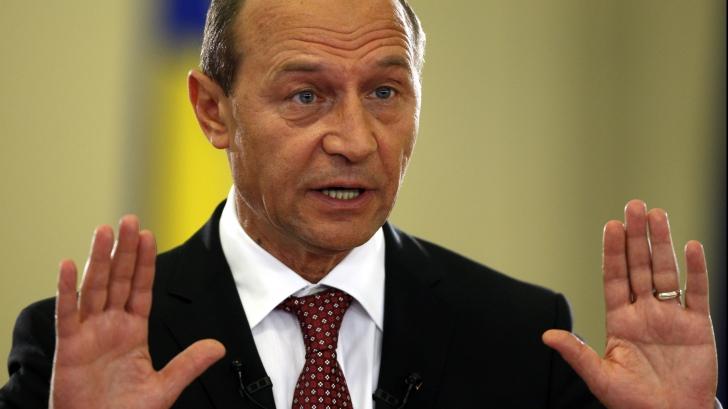 Traian Băsescu se înscrie în PMP