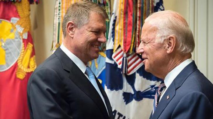 """Casa Albă: """"Biden a salutat concentrarea preşedintelui Iohannis pe eforturile anticorupţie"""""""
