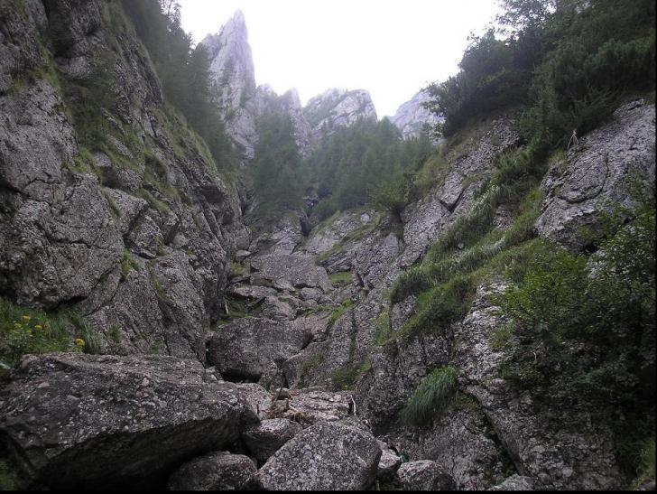 Incident grav în munţi: o femeie a căzut în gol 40 de metri