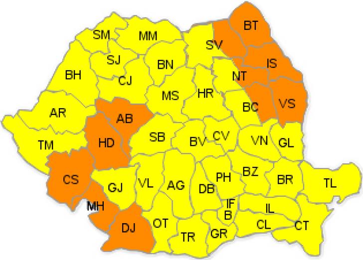 România se topeşte! Cod portocaliu de caniculă