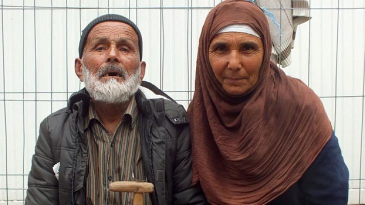 Povestea emoţionanţă a celui mai bătrân refugiat ajuns în Germani. Are 110 ani şi este orb