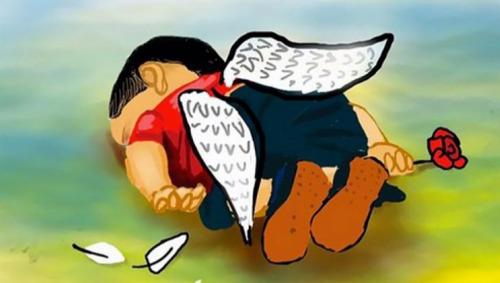 Controversă pe tema pozei cu copilul sirian înecat: a fost mutat cadavrul pentru un cadru mai bun?