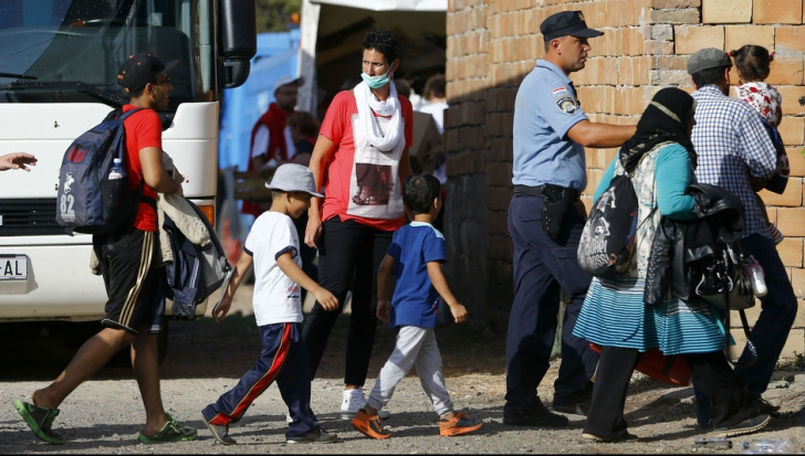 Criza imigranților. Refugiați, arestați în Ungaria după ce au pătruns din Croația