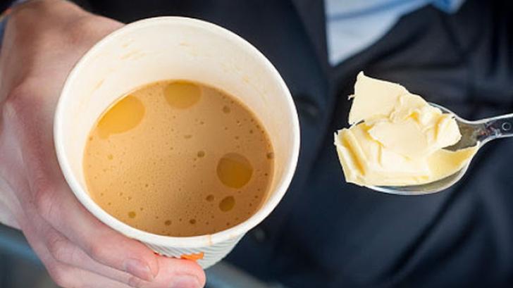 Cafea cu ulei de cocos pt slabit