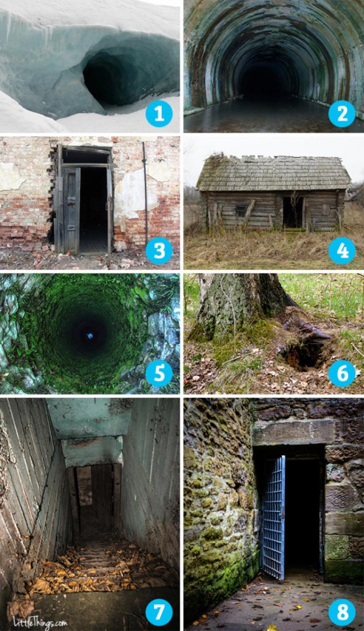 Alege o imagine! Ce intrare îţi inspiră teamă? Ce vei afla este uimitor