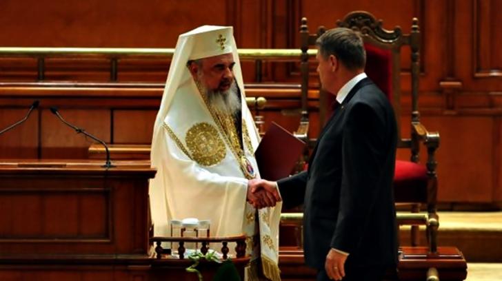 Iohannis, la aniversarea Patriarhului Daniel: Valorile creștine să își regăsească locul în societate