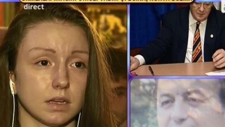 Confesiunea emoţionantă a fiicei lui Vadim Tudor.Politicanul a făcut 22 de stopuri cardiace în 3 ore