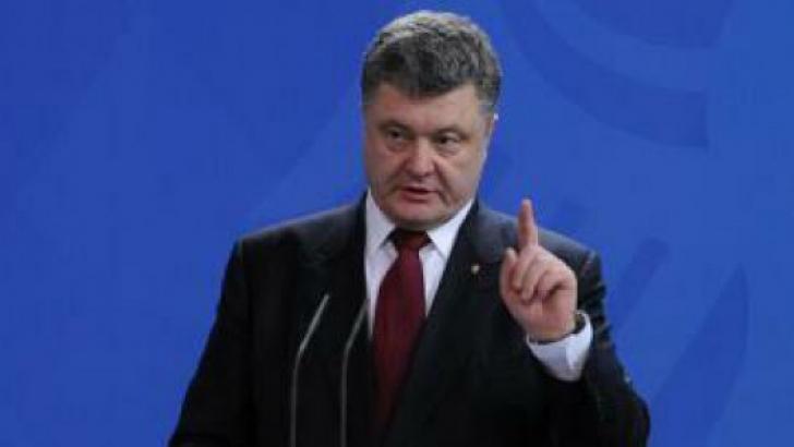 """Poroșenko atacă Rusia:""""Cum poți face apel la o coaliție antiteroristă, când politica ta e războiul?"""""""