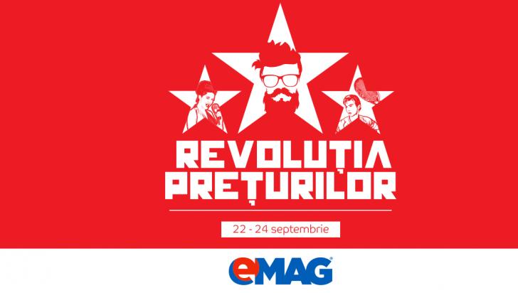 Revoluția prețurilor eMAG – Lista tuturor produselor cu discounturi uriașe