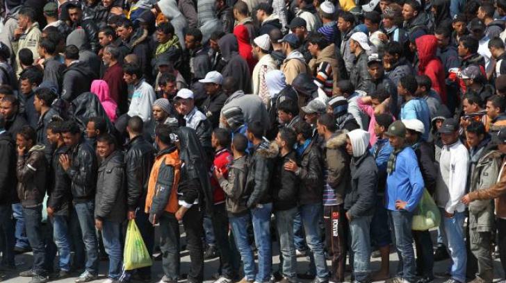 Criza imigranților. Câți refugiați trec zilnic frontiera dintre Grecia și Macedonia