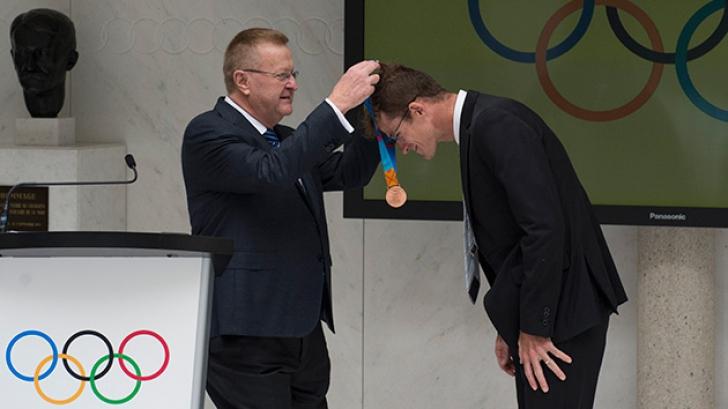 Ciclistul Michael Rogers a primit acum medalia de bronz pentru Jocurile Olimpice din 2004