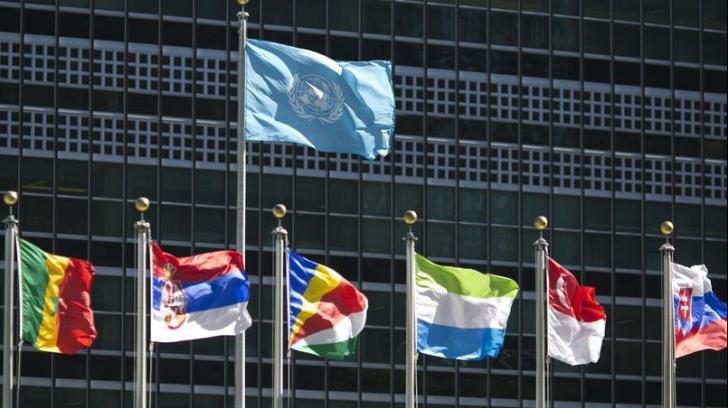 Steagul palestinian, arborat pentru prima dată la sediul ONU