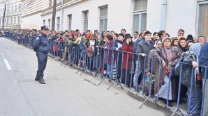 Moştele Sfintei Parascheva. Peste 600 de pelerini au avut nevoie de îngrijiri medicale