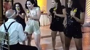 Cel mai sexy dans de nuntă. Mirele a rămas cu gura căscată