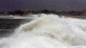 Uraganul Patricia a atins coastele Mexicului