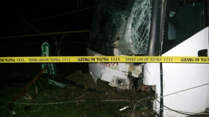Accident teribil în Caransebeş: 26 de oameni au fost răniţi