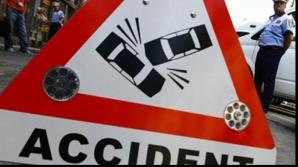 Accident rutier. Traficul pe DN29A Suceava - Dorohoi se desfăşoară îngreunat