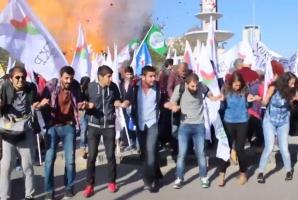 Atentat Ankara, momentul exploziei