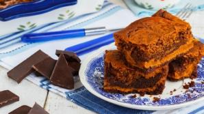 Prăjitură negresa din două ingrediente. Este gata în 5 minute!