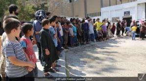 Imagini şocante. Copiii din Siria şi Irak, obligaţi să primească execuţiile Statului Islamic