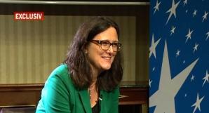 Cecilia Malmstrom, despre problemele legate de dezvoltarea agresivă a economiei chinezeşti