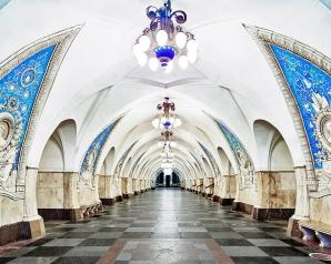 GALERIE FOTO. Sunt cele mai frumoase staţii de metrou din lume. Arată ca adevărate palate